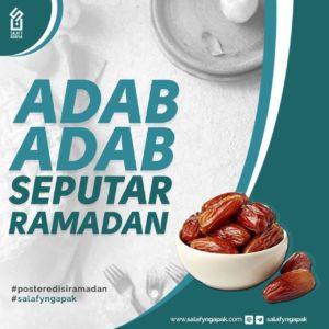Adab Seputar Ramadhan
