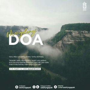 Mengulangi Doa