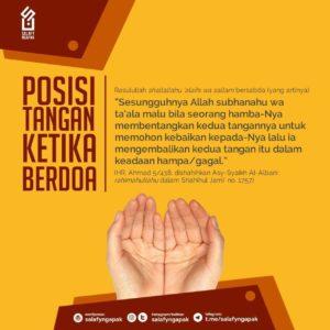 Posisi Tangan Ketika Berdoa