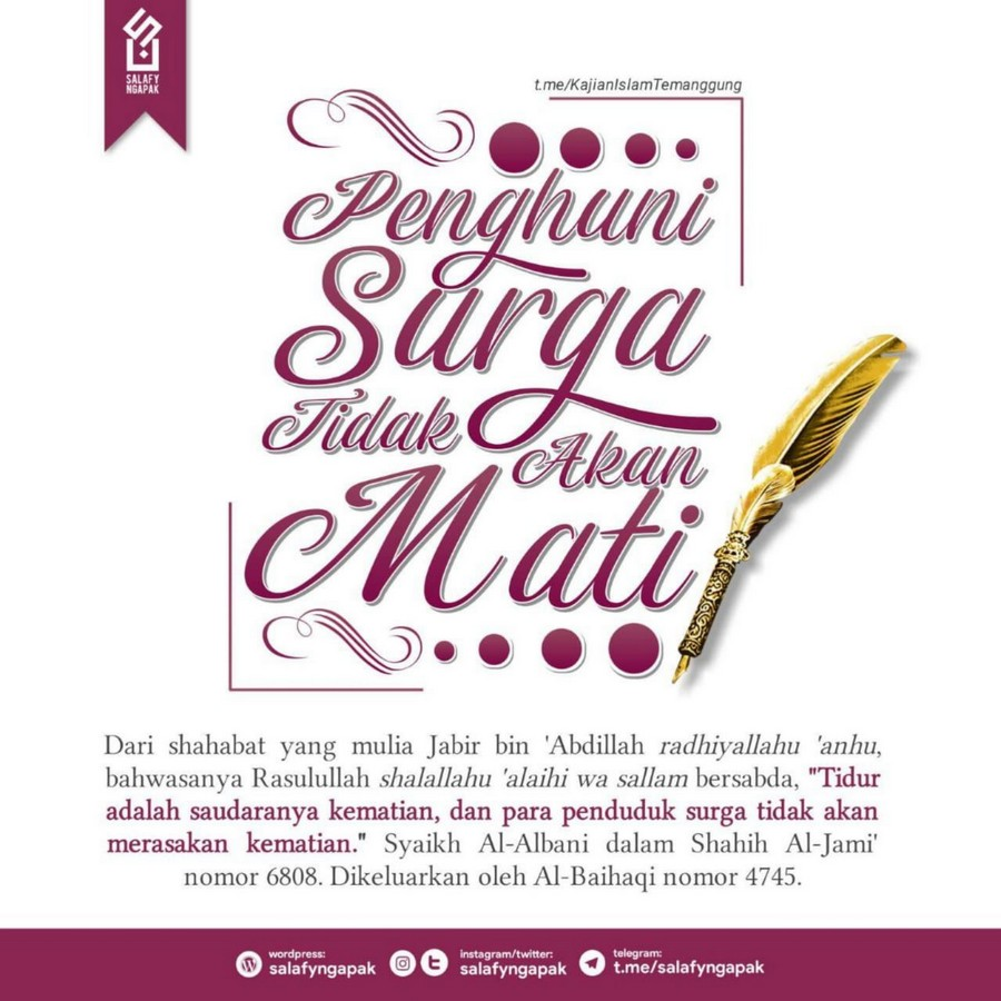 Poster Dakwah Salafy Ngapak 1008