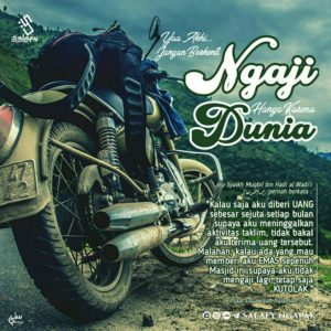 Poster Dakwah Salafy Ngapak 103