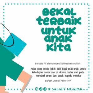 Poster Dakwah Salafy Ngapak 1234
