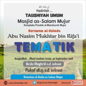 Poster Dakwah Salafy Ngapak 134