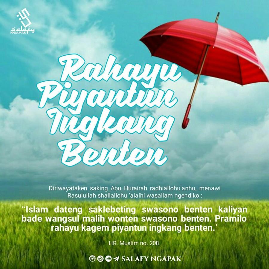 Poster Dakwah Salafy Ngapak 268