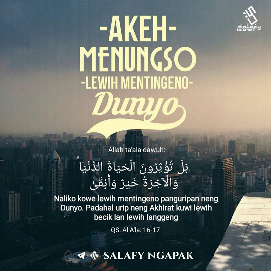 Poster Dakwah Salafy Ngapak 409
