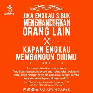 Poster Dakwah Salafy Ngapak 477