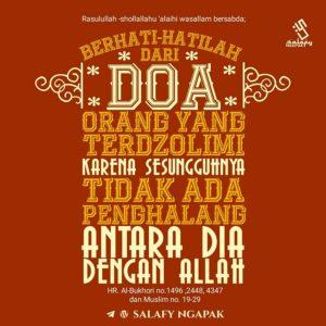 Poster Dakwah Salafy Ngapak 500