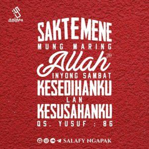 Poster Dakwah Salafy Ngapak 54