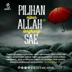 Poster Dakwah Salafy Ngapak 680