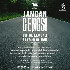 Poster Dakwah Salafy Ngapak 7