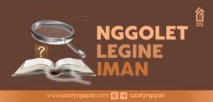 Nggolet Legine Iman