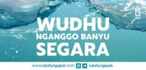Hukum Wudhu Nganggo Banyu Segara