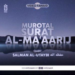 Murotal Q.S. Al-Ma'aarij